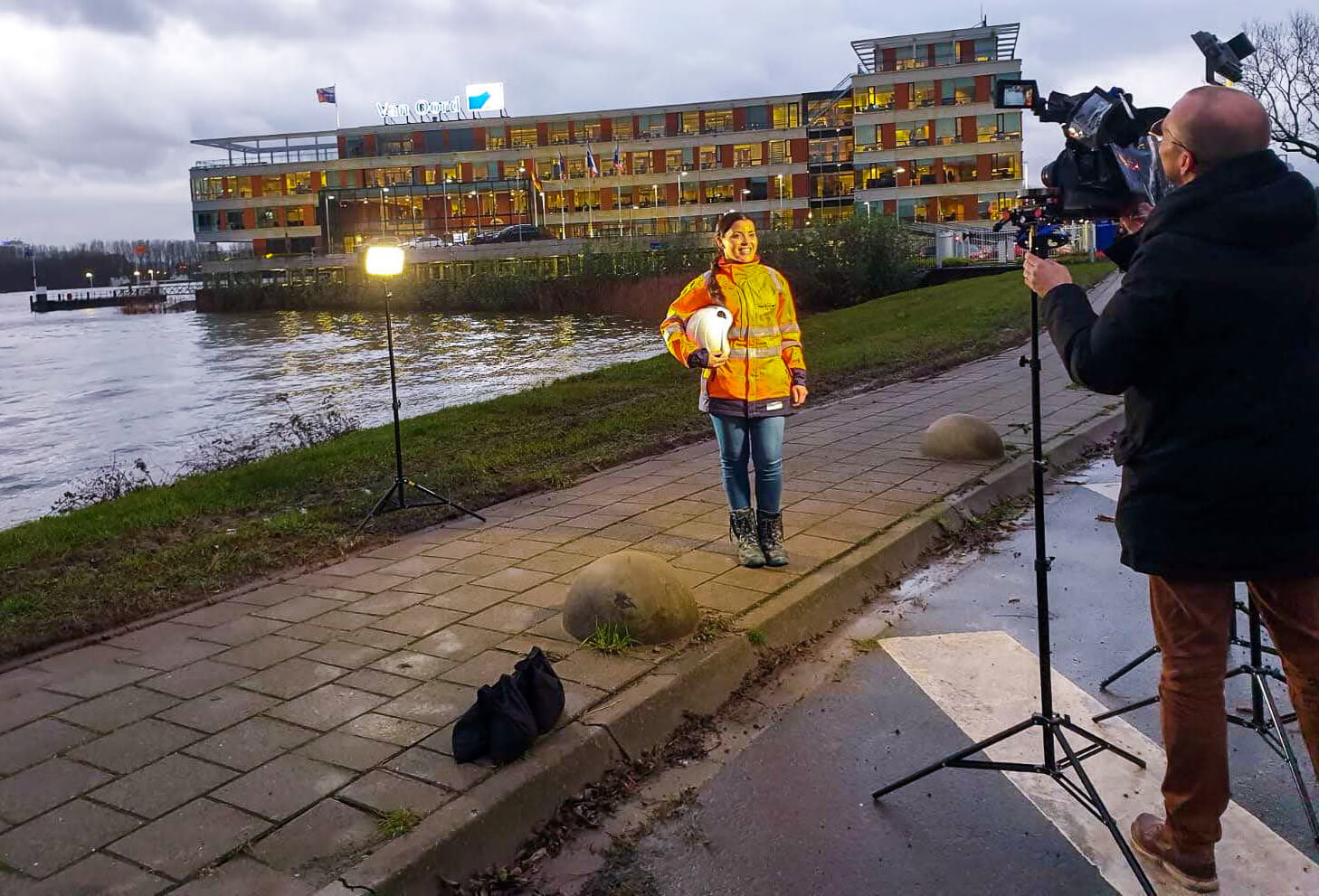 Videomarketing: strategie, concept, productie, regie, camera en edit ten behoeve van Employer Branding voor Van Oord.